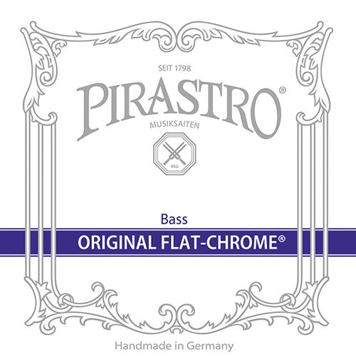 PIRASTRO  Original Flat Chrome Bass Set Orchestra