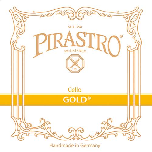 PIRASTRO Gold VlCello D-snaar, medium