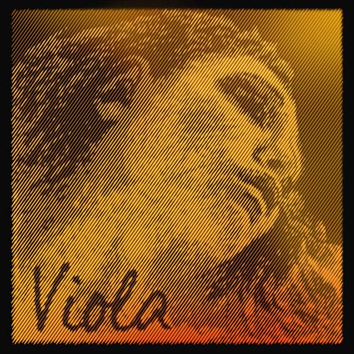 Evah Pirazzi Gold Viola, C-Saite, Stahlkabel/Wolfram,  mittel