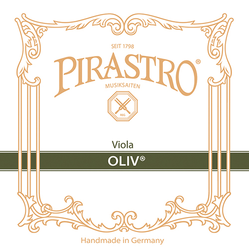 PIRASTRO  Oliv  Viola D-snaar, zilver, sterkte: 14-1/2