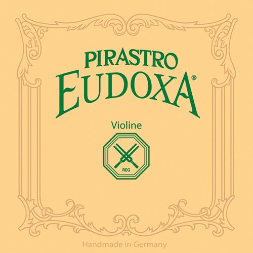 PIRASTRO  Eudoxa Violin E- snaar met lusje, blank, medium