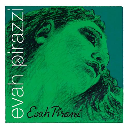 PIRASTRO Evah Pirazzi Violin D-Snaar  3/4 - ½  zilver, medium