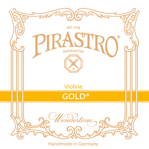 PIRASTRO  Gold Violin G- snaar, darm, medium