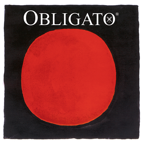 PIRASTRO  Obligato Set vioolsnaren met E-lusje, zacht