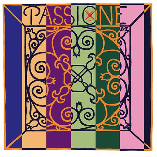 PIRASTROPassione Solo - Set vioolsnaren - E kogeltje - medium
