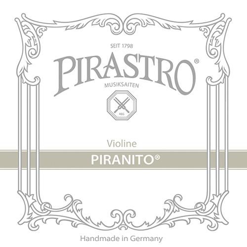 PIRASTRO  Piranito Violin D-snaar  3/4-1/2