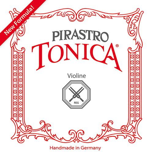 PIRASTRO Tonica Violin E-Snaar met kogel zilverstaal medium