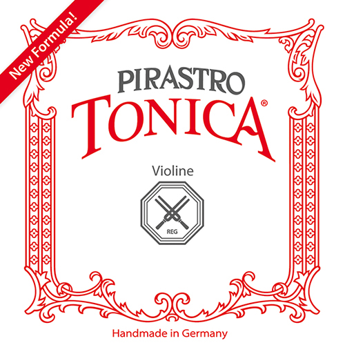 PIRASTRO  Tonica Set Vioolsnaren met E-Kogel, medium 3/4 - 1/2
