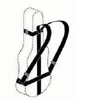 Rugzakcombinatie voor violoncello