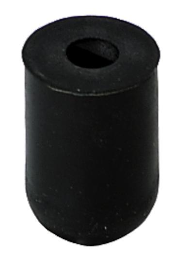 Rubber pindopje cylindrisch voor cello