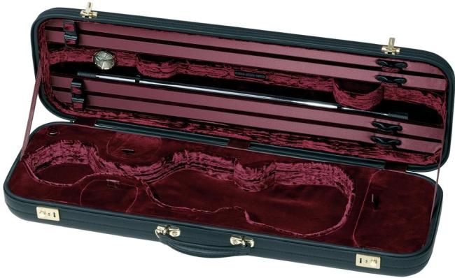 Original Jaeger Prestige Line - vioolkoffer - rundleder