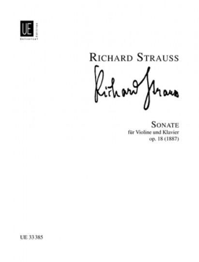 Richard Strauss Sonate voor viool en piano