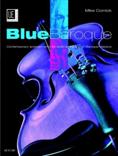 Blue Baroque Violin voor Viool en piano