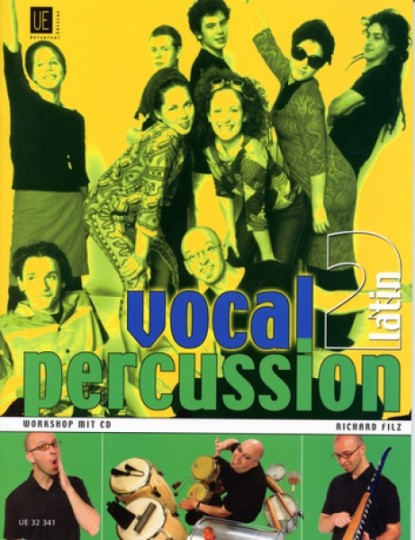 Vocal Percussion 2 - latin met CD