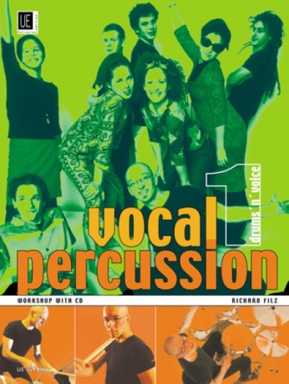 Vocal Percussion 1 - drums ´n´ voice met CD