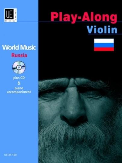 World Music Play Along Violin - Russia