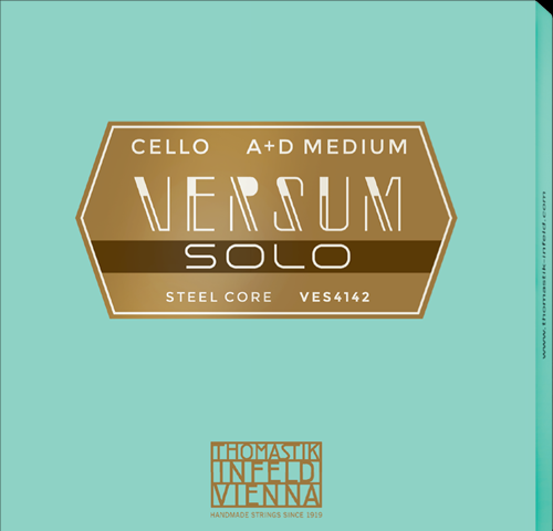 Thomastik Versum Solo Set Cellosnaren, medium