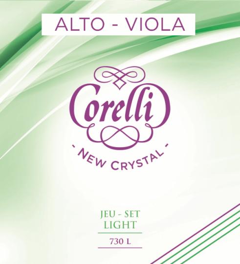CORELLI  Crystal Set altvioolsnaren, light
