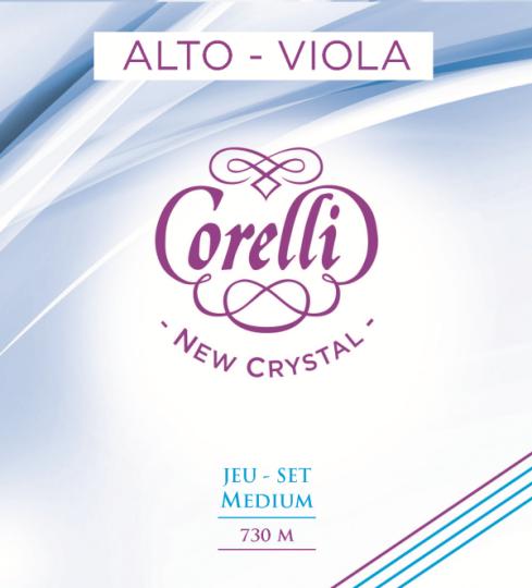 CORELLI  Crystal G- snaar voor altviool, medium