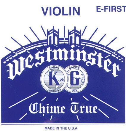 WESTMINSTER Violin E-snaar met kogeltje