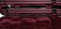 Carbon look  zwart / rood